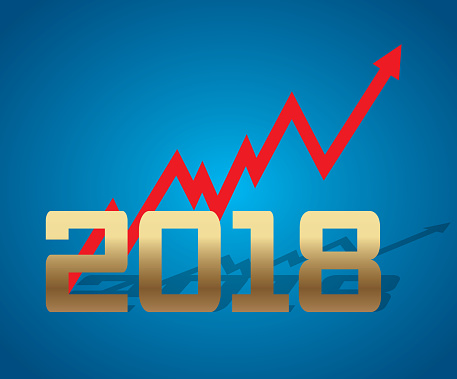 New year 2018 will be growth