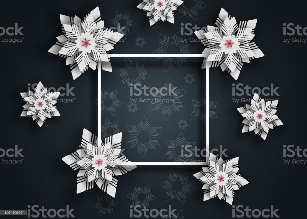 Weihnachten Scherenschnitt.Neue Jahr 2019 Und Weihnachten Design Hintergrund Weihnachten