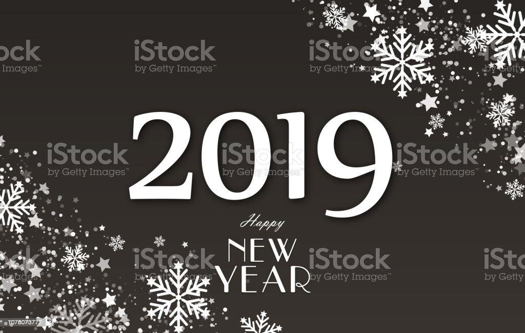 Weihnachten Urlaub 2019.Neue Jahr 2019 Und Frohe Weihnachten Urlaub Hintergrund Konzept