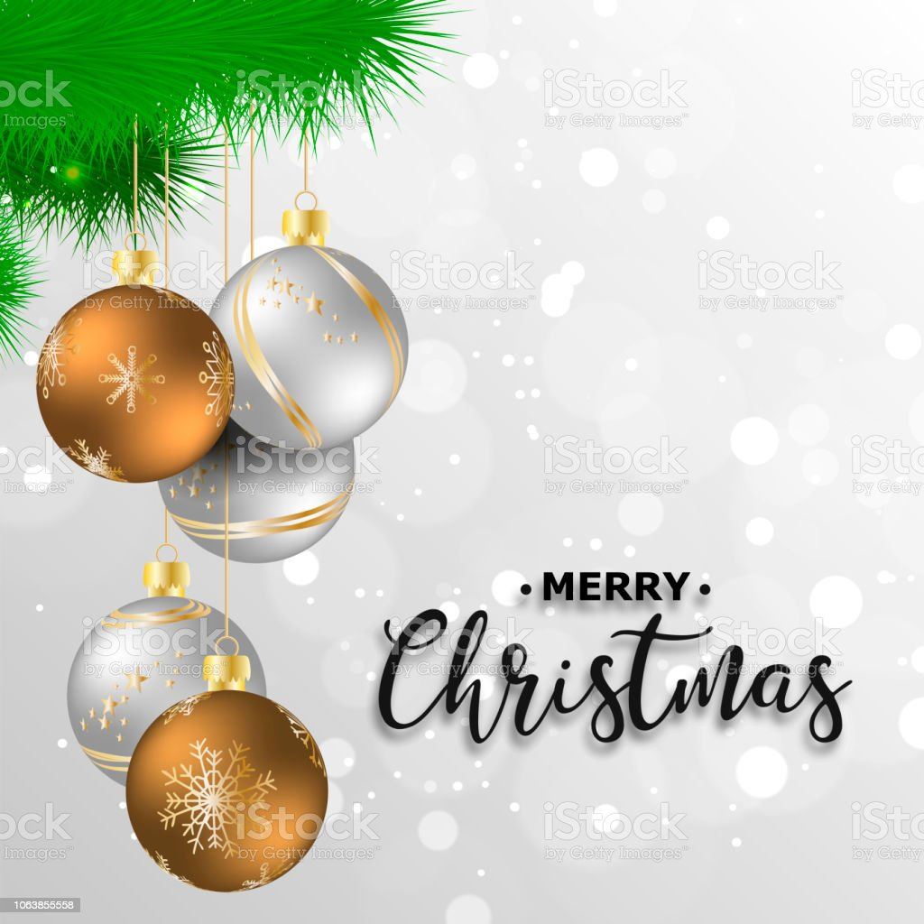 New Year 2019 Christmas Christmas Decorations Background