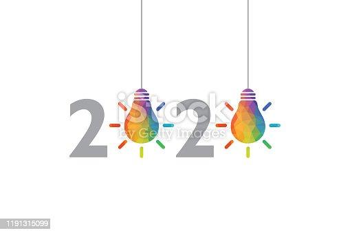 New Year 2020 Creative Idea Concepts