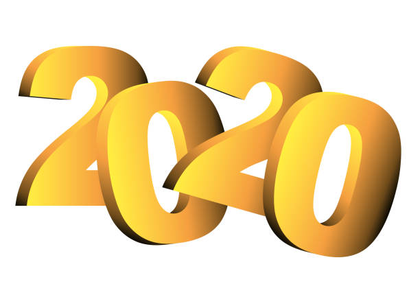 Top 60 Year 2020 Clip Art, Vector Graphics and ...