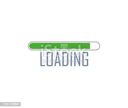 istock New year 2021 loading vector illustration 1281428501