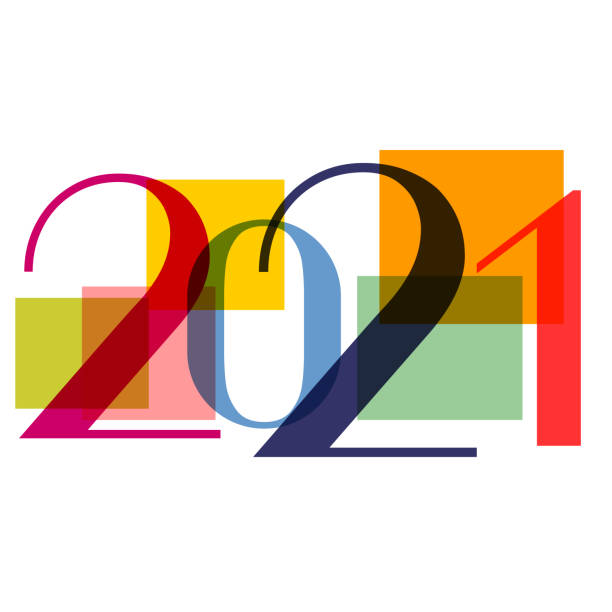 New Year 2021 New Year 2021 new years day stock illustrations