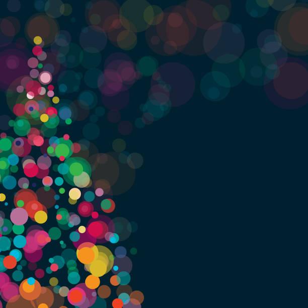illustrazioni stock, clip art, cartoni animati e icone di tendenza di new year and christmas background square composition - sfondo vacanze e stagionali