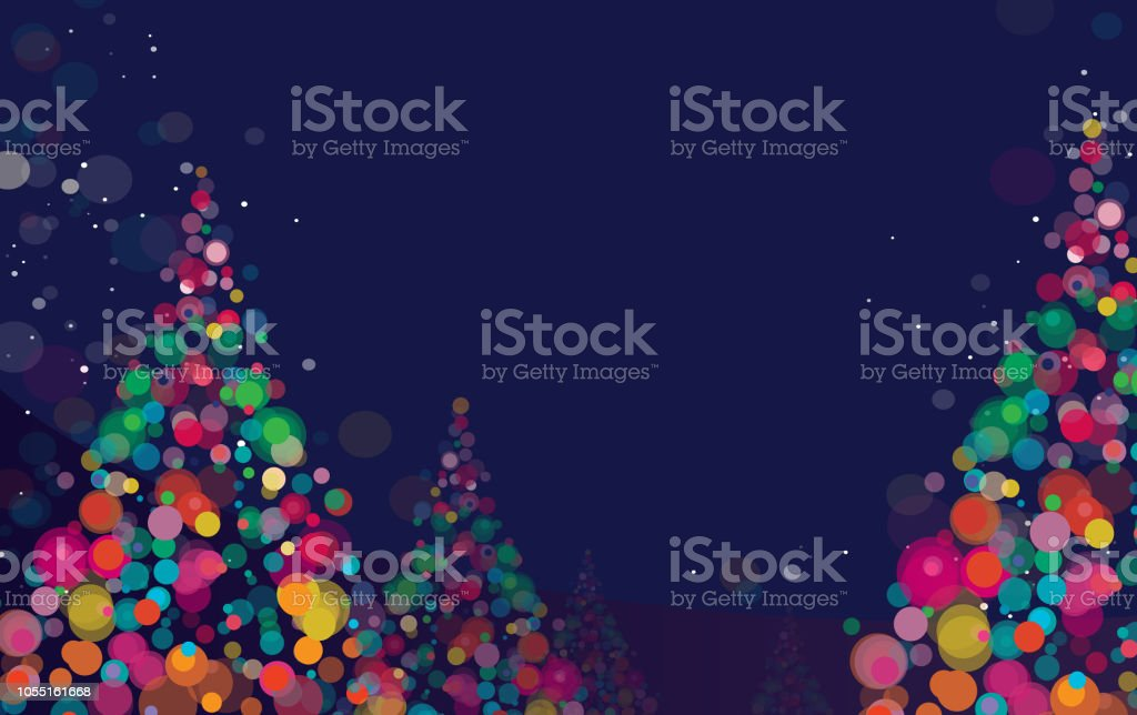 Nieuwjaar en Kerstmis achtergrondvectorkunst illustratie
