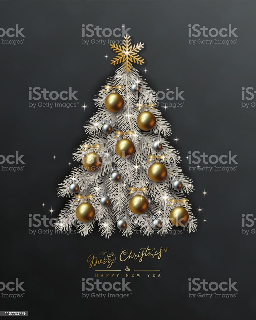 Background Black And Gold Christmas Decorations from media.istockphoto.com