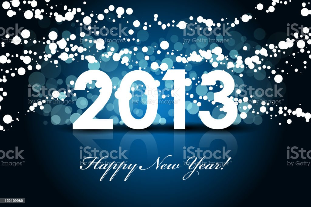 New year background royalty-free new year background stock vector art & more images of 2013
