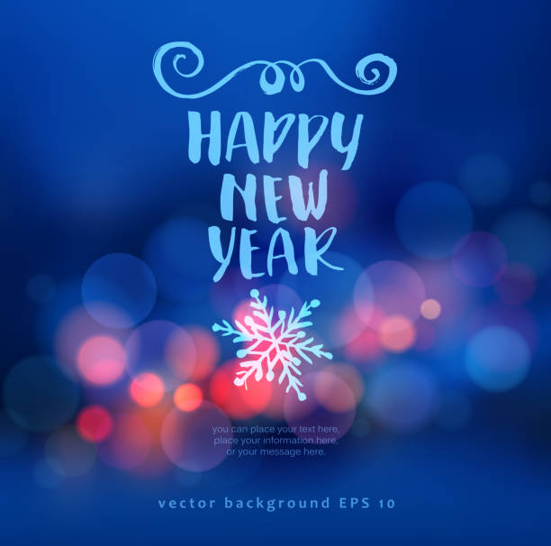 new year background - holidays and seasonal background stock illustrations