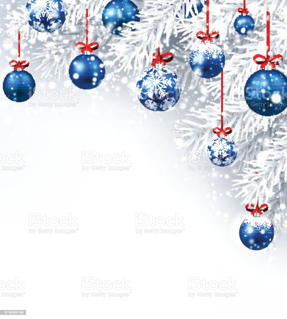 christmas christmas ornament snow backgrounds blue new year