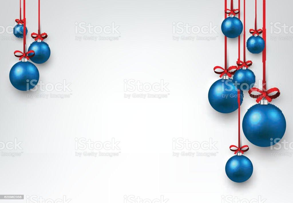 New Year background with Christmas balls. ilustração de new year background with christmas balls e mais banco de imagens de ano novo royalty-free
