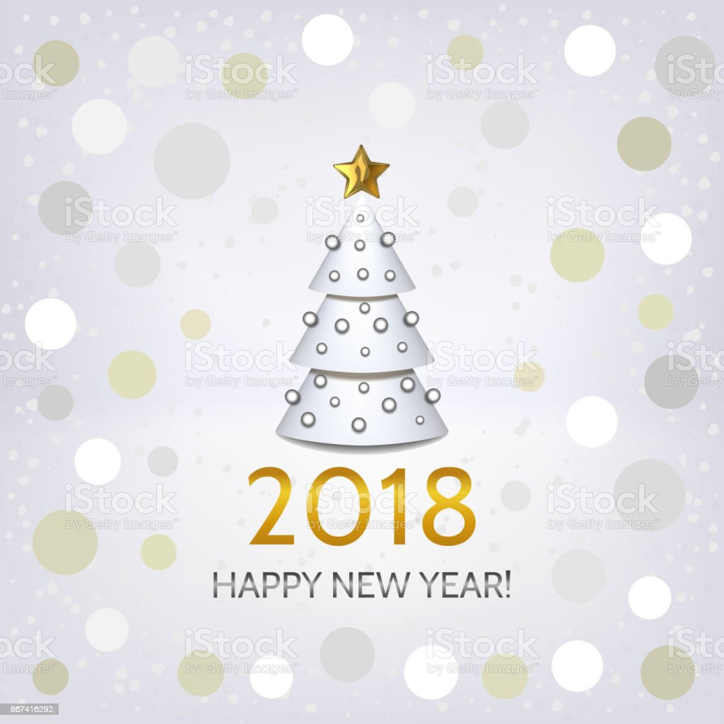 new year background with elegant christmas tree royalty free new year background with elegant christmas