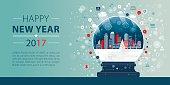 New Year banner depicting webinar.