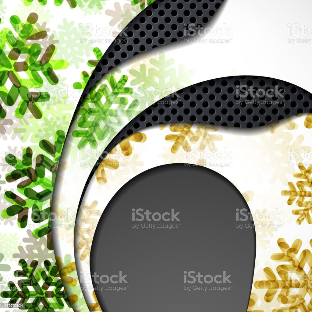 New Year banner with snowflakes royalty-free new year banner with snowflakes stock vector art & more images of abstract