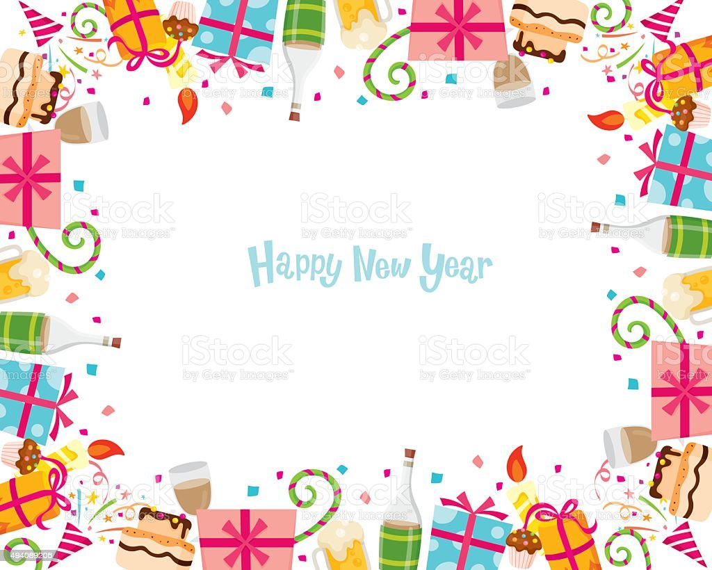 new year border royalty free new year border stock vector art more images