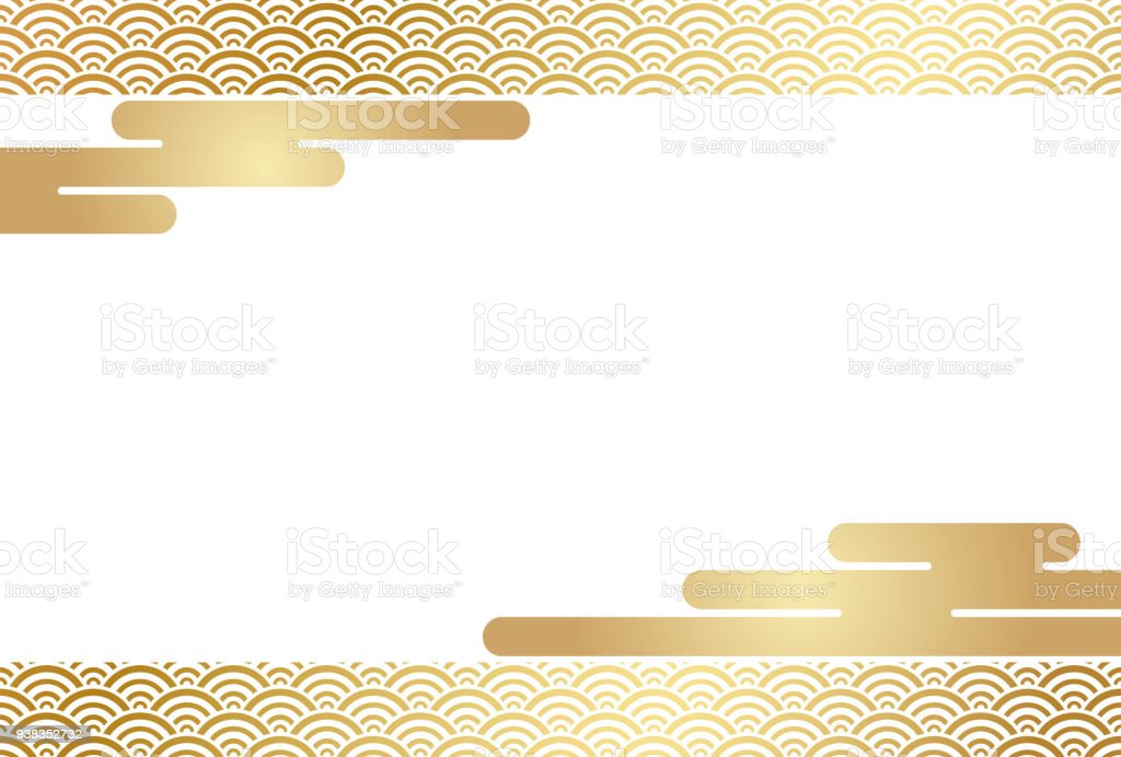 new year card template with traditional quintessential japanese graphic patterns royalty free new
