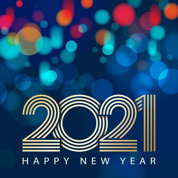 ilustraciones, imágenes clip art, dibujos animados e iconos de stock de celebraciones de año nuevo 2021 - font
