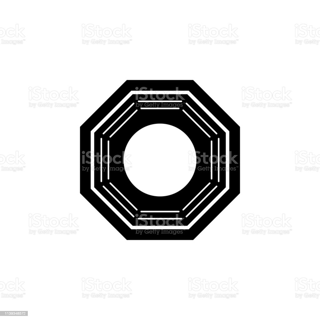 New Year China Bagua Icon Can Be Used For Web Logo Mobile