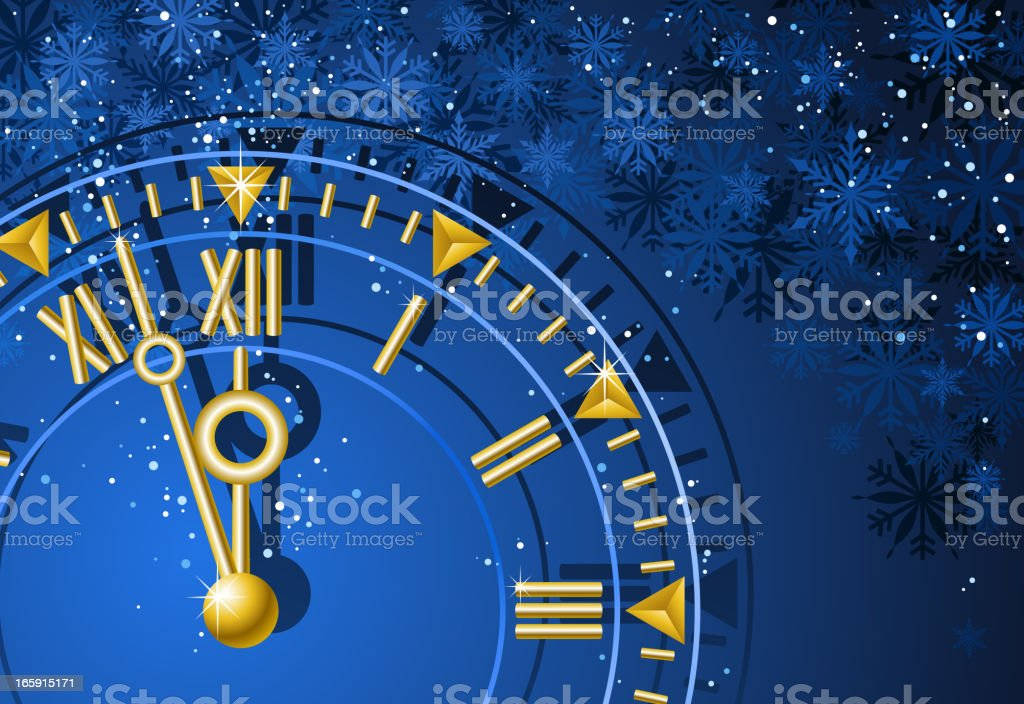 New Year Countdown royalty-free stock vector art