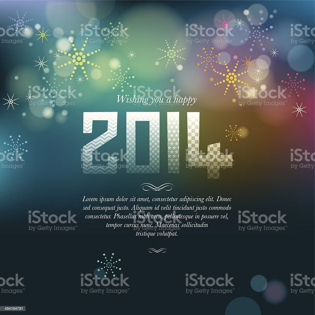 New Year Fireworks royalty-free new year fireworks stock vector art & more images of 2014