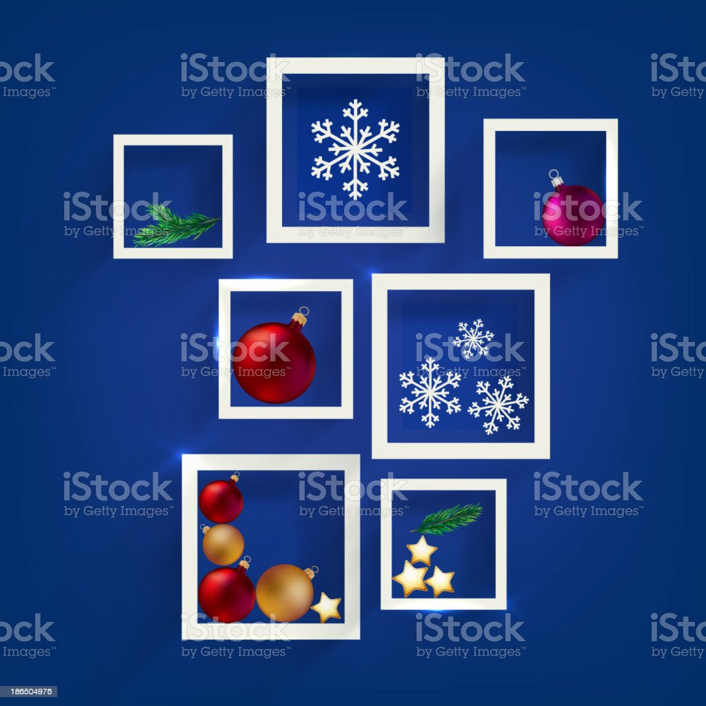 new year frames royalty-free stock vector art