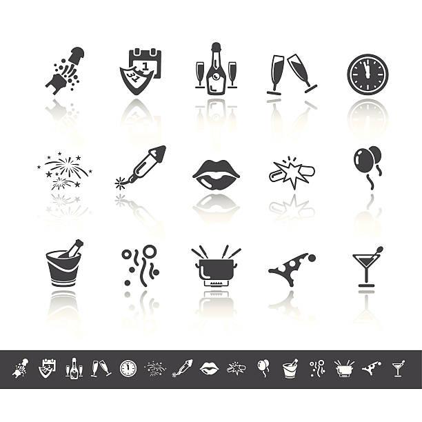 silvester-icons/schlichtes grau - fischglas stock-grafiken, -clipart, -cartoons und -symbole
