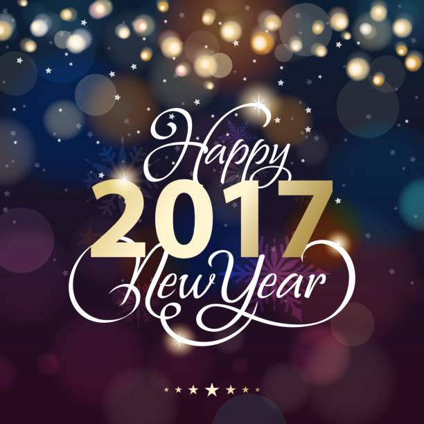 nowy rok oświetlenie tła - new year stock illustrations