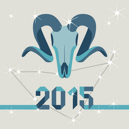 New year mascot goat