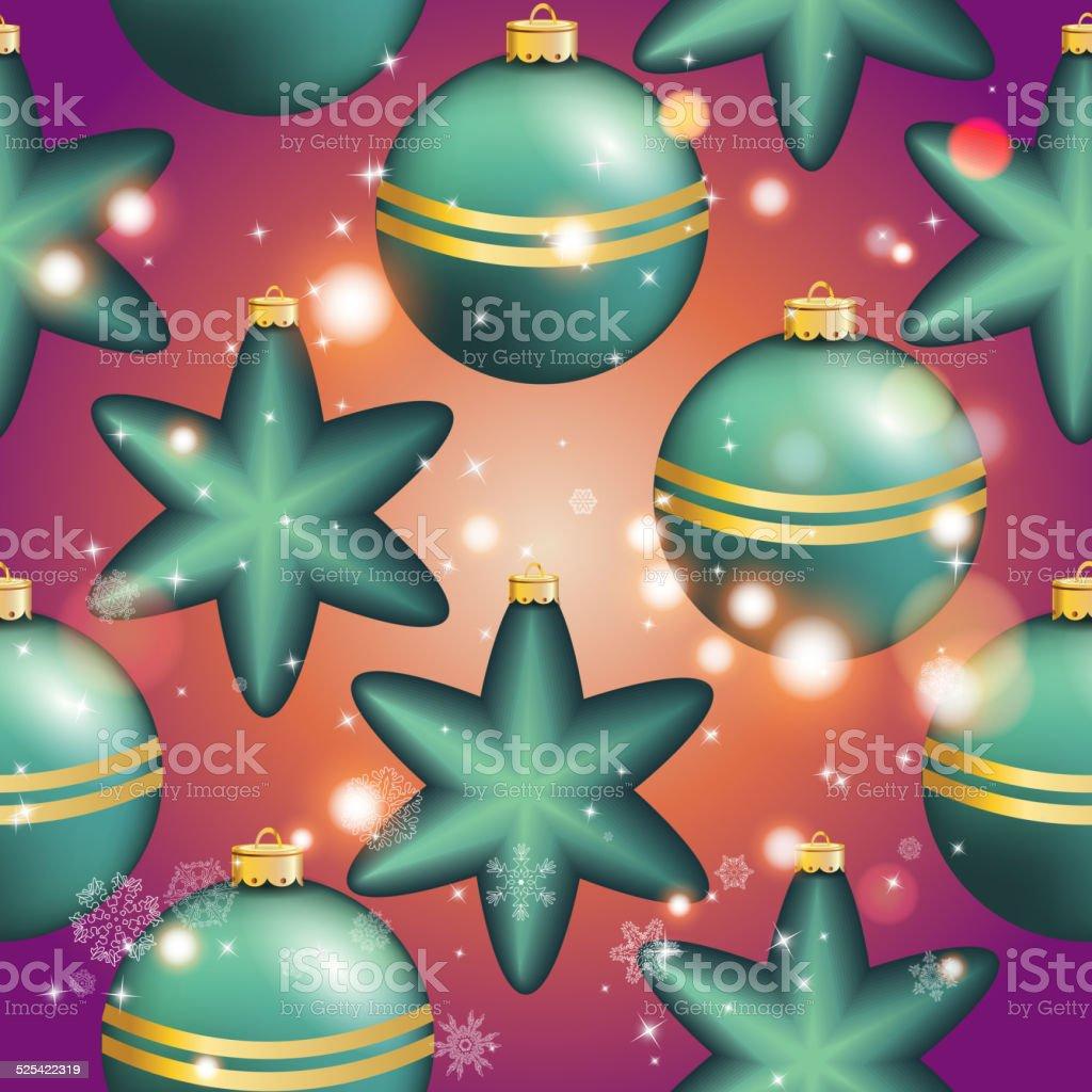 motif de nouvel an avec ballon noël papier peint – cliparts