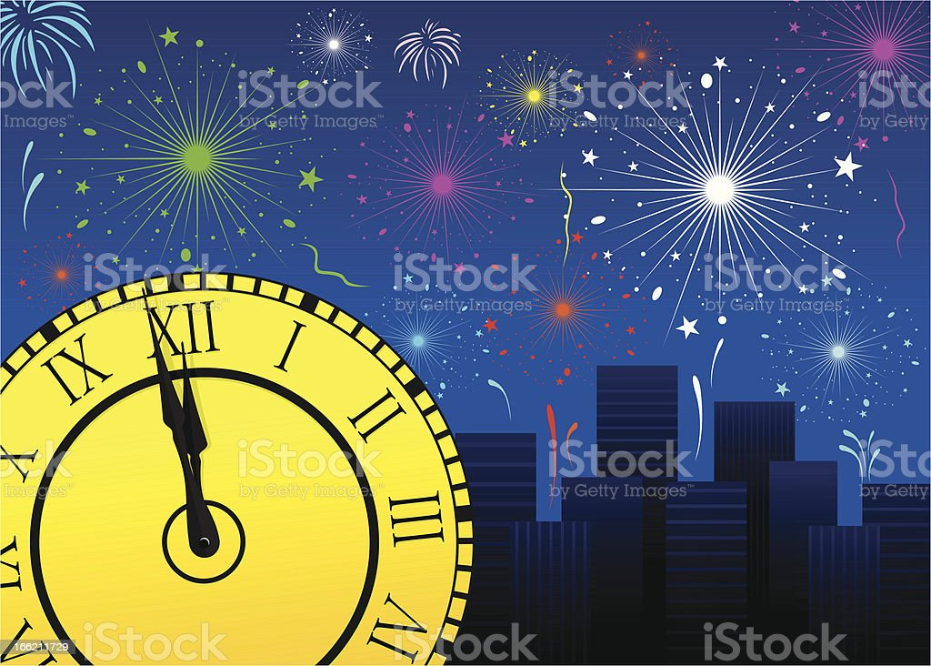 New Year royalty-free new year stock vector art & more images of anticipation