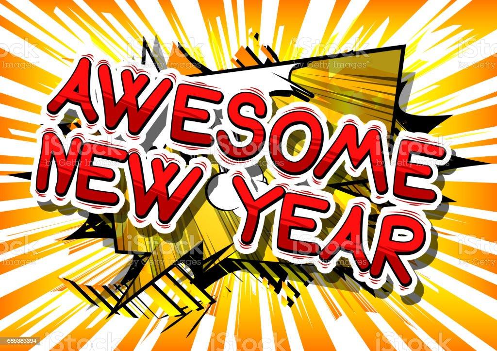 New Year new year - arte vetorial de stock e mais imagens de abstrato royalty-free
