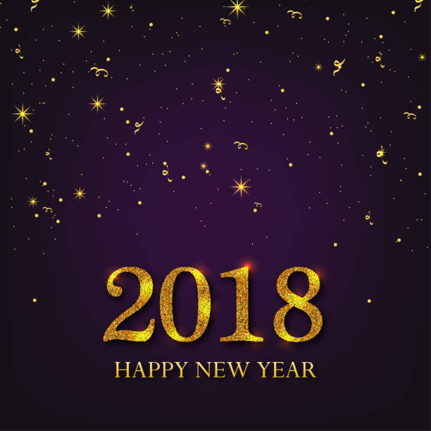 new year 2017 gold firework explosion design clip art vector images illustrations
