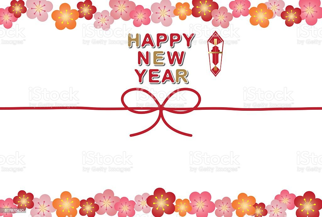 New Years Card Frame Stock Vector Art & More Images of Backgrounds ...