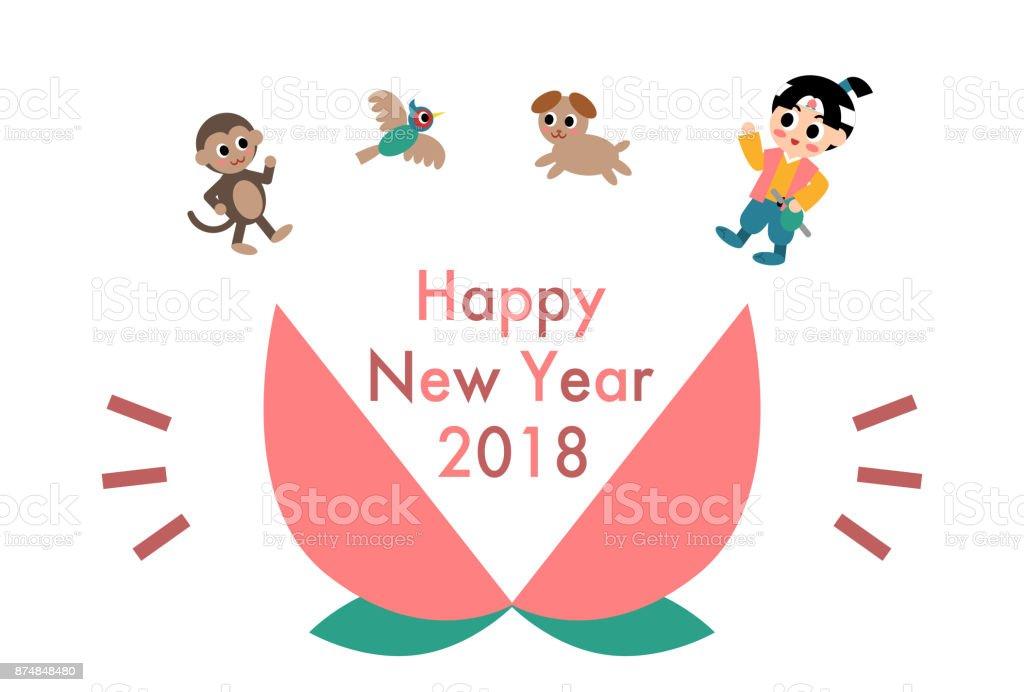 2018 年賀状 2018年のベクターアート素材や画像を多数ご用意 Istock