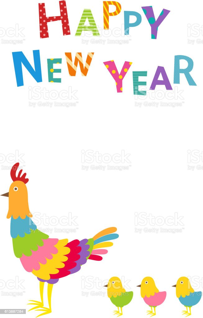 2017 New Years Cards Stock Vector Art & More Images of 2017 ...