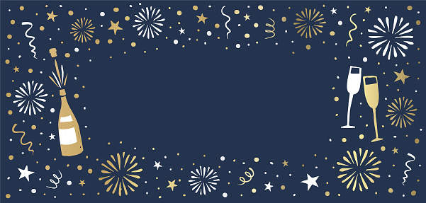 New Year's Eve background
