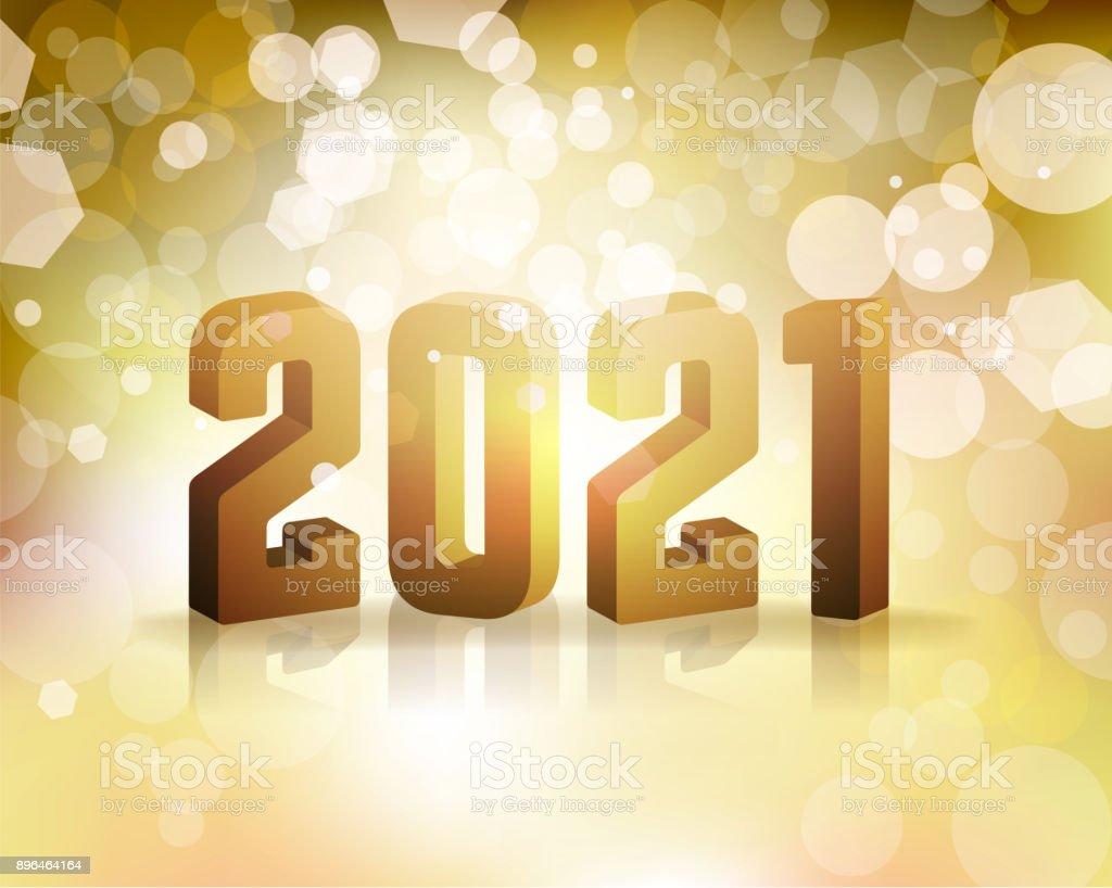 2021 New Years Eve Concept Illustration Stock Illustration ...