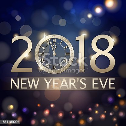 New Years Eve Countdown 2018 Stock Vector Art & More ...