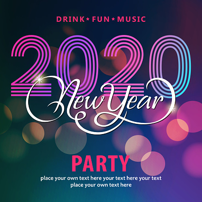 2020 New Year's Eve Disco Party