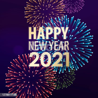 istock 2021 New Year's Eve Fireworks Spectacular 1278511135