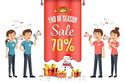 New Years Eve Sale And Christmas Festival Discount ...