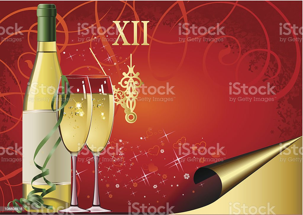New Year's Eve royalty-free new years eve stock vector art & more images of alcohol