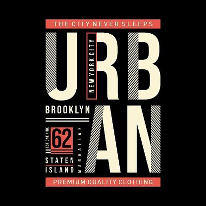 new york city graphic design typography t shirt