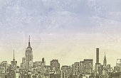 istock New York City Skyline Copy Space Grunge Watercolor Urban Background 1277312344