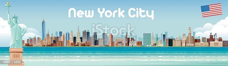 istock New york City Skyline 1053174350