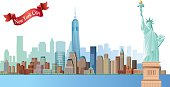Vector New York City