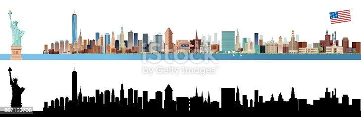 istock New york City Skyline 867120706