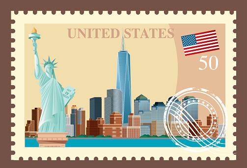New York City Stamp