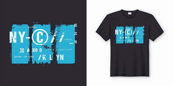 New York City stylish t-shirt and apparel design