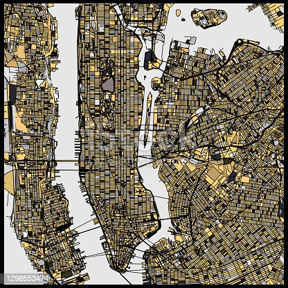 istock New York city transportation structure art map 1298553474